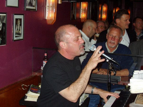 Billy Joel Playing at The Redhead Piano Bar