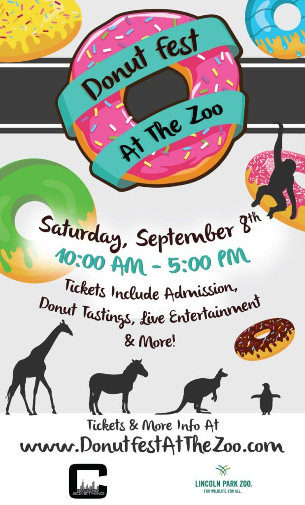 Donut Fest at the Lincoln Park Zoo Flyer