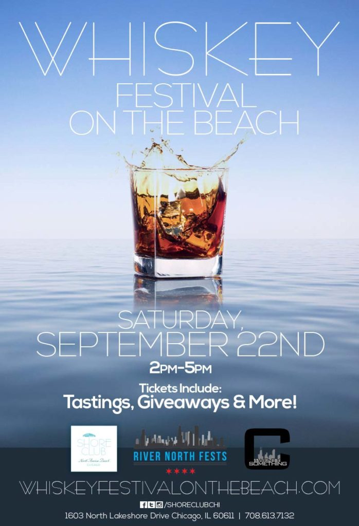 Whiskey Festival on the Beach Flyer