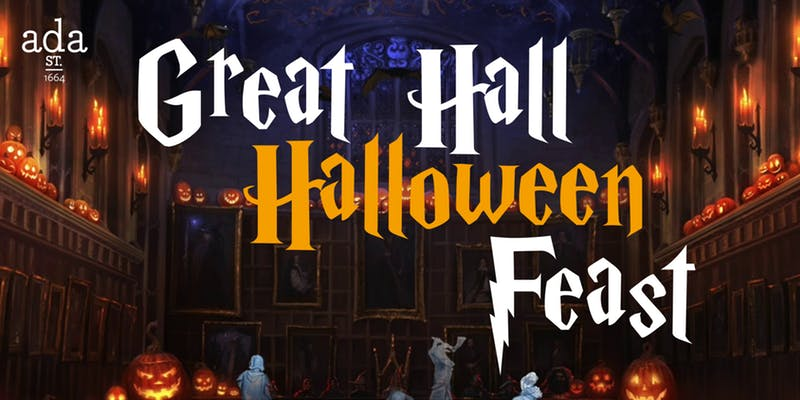 Ada St.'s Annual Great Hall Halloween Feast
