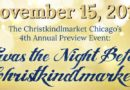 Christkindlmarket – Preview Event 2018