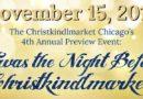 Christkindlmarket – Preview Event 2018
