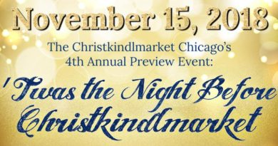 Christkindlmarket Preview Event 2018