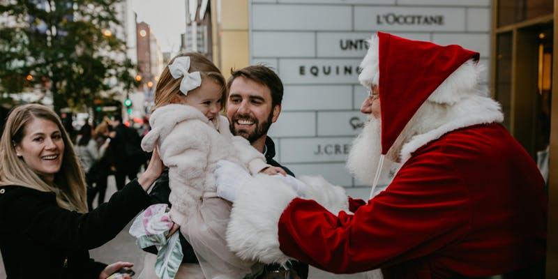 900 Shops Santa Breakfast