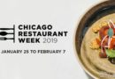 Chicago Restaurant Week 2019 – Jan 25 – Feb 7