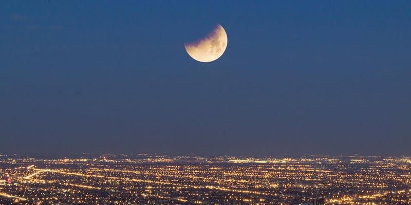 Chicago Super Blood Moon Eclipse