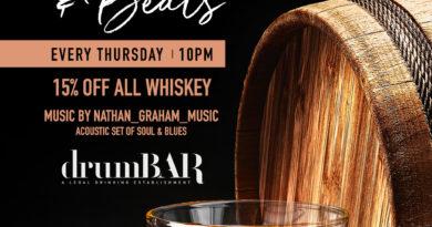 drumBAR Bourbon & Beats