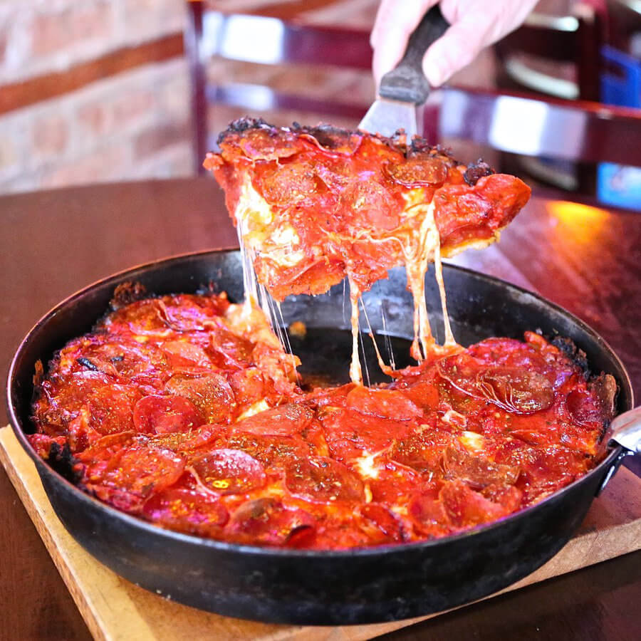 Pequods Pizza Chicago