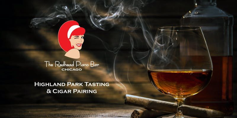 The Redhead Piano Bar - Higland Park Tasting