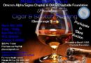 Iwan Ries – Cigar & Scotch Tasting with Omicron Alpha Sigma Chapter & OAS Charitable Foundation