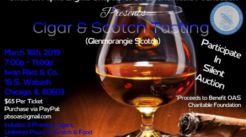 Iwan Ries - Cigar & Scotch Whiskey Tasting 3/16