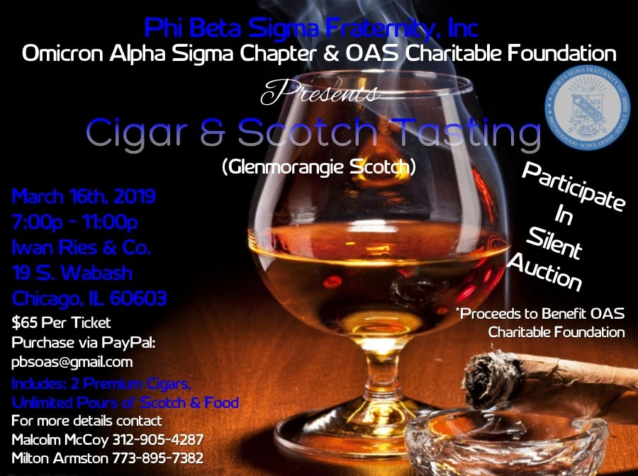 Iwan Ries - Cigar & Scotch Whiskey Tasting 3/16