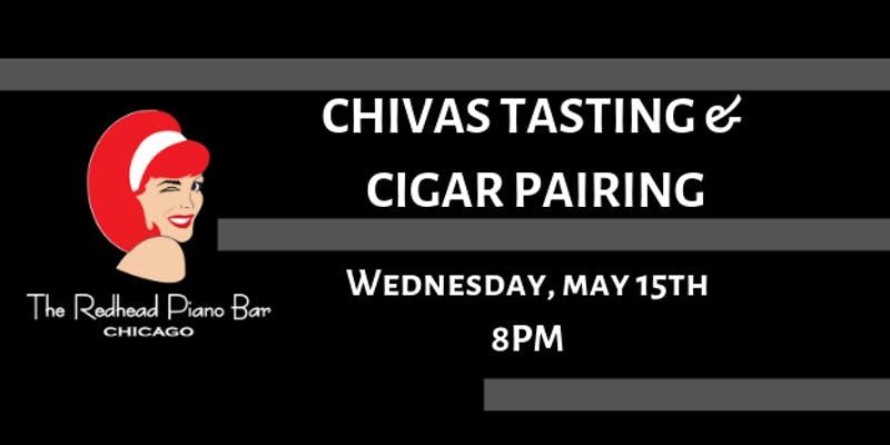 The Redhead Piano Bar Chivas Tasting