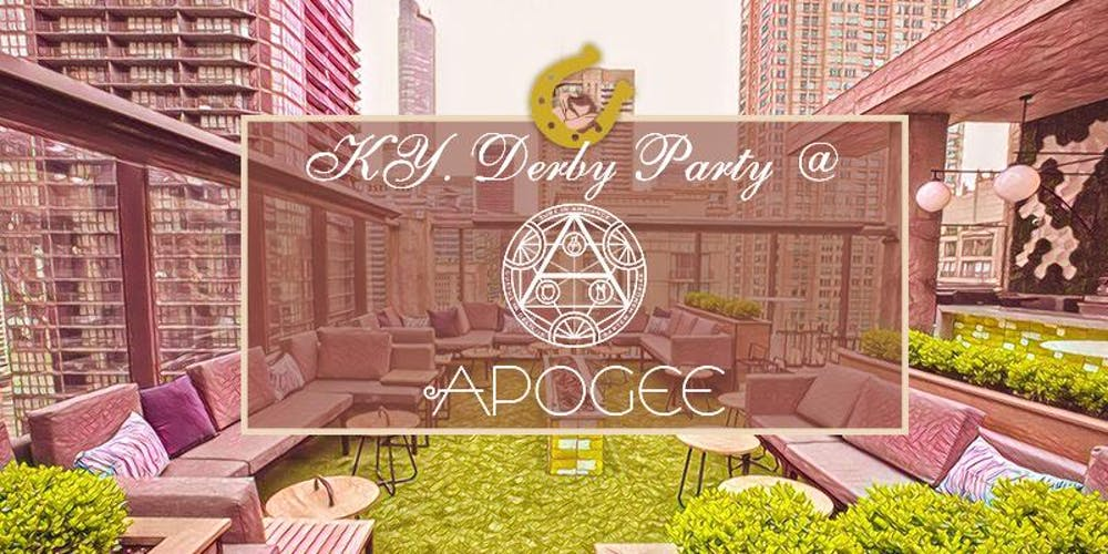 Apogee Lounge Derby Party