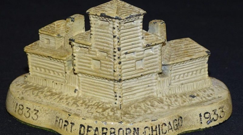 Fort Dearborn Paperweight