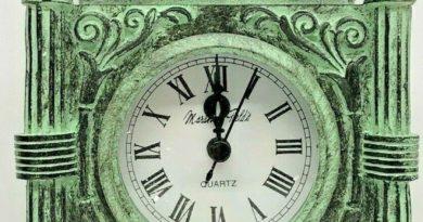 Marshall Field's Clock Front