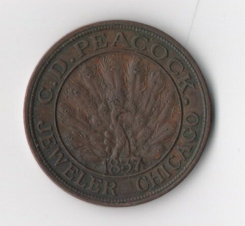 C.D. Peacock 1973 Time is Money - Front