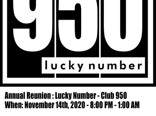 Club 950 Lucky Number Reunion 2020