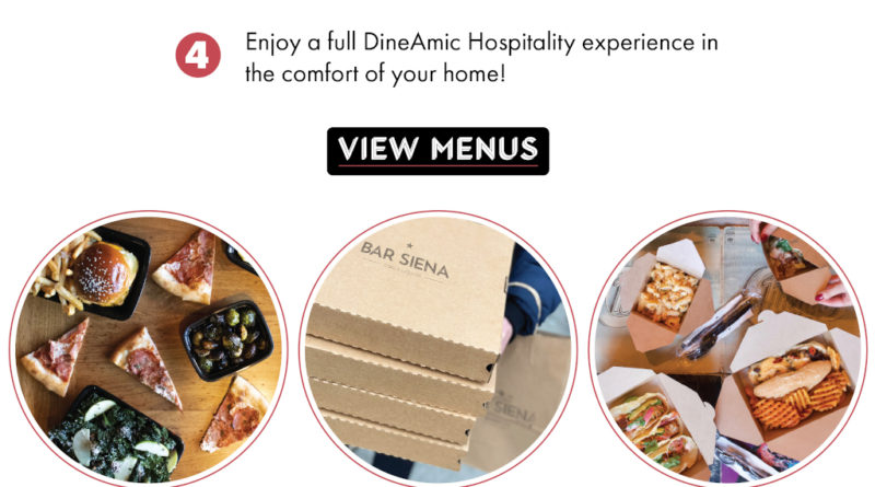 DineAmic Hospitality Launches Curbside Pick-Up