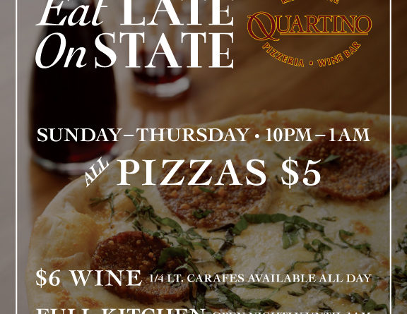 Quartino Eat Late on State