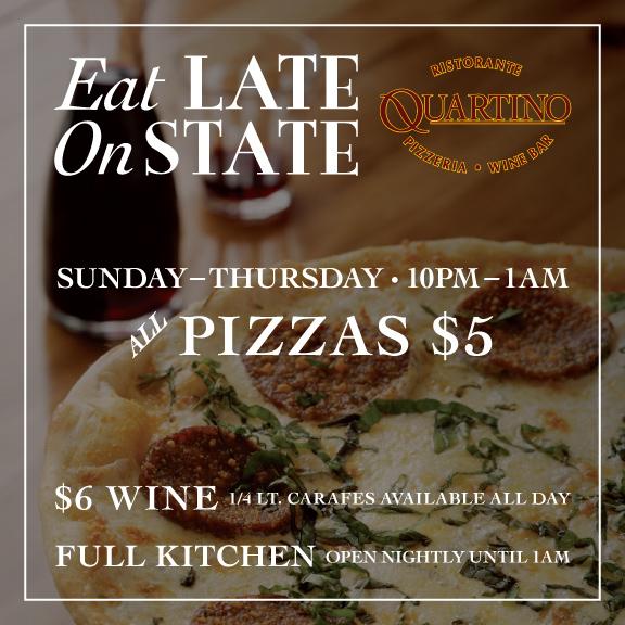 Quartino Eat Late on State