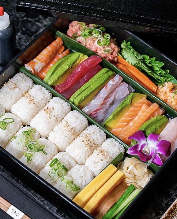 TAO Chicago at Home Sushi Kits